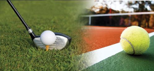 Stages golf et tennis
