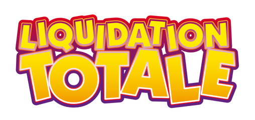 Liquidation Totale déstockage
